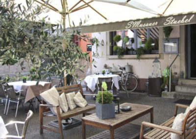 Terrasse Restaurant Smusauer