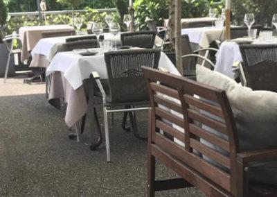 Terrasse Restaurant S'musauer Stuebel
